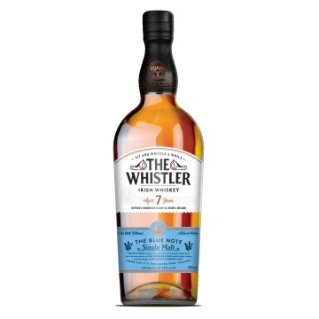 The Whistler 7 yr Single Malt Irish Whiskey