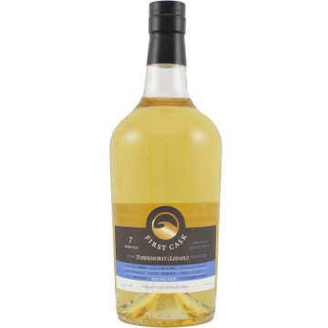 LEDAIG FIRST CASK 7 YEARS OLD (Tobermory) Peated Distilled 2005
