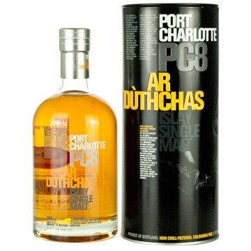 BRUICHLADDICH Port Charlotte PC8 Peated